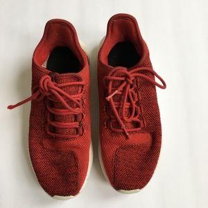 Adidas Red Tubular Sneakers